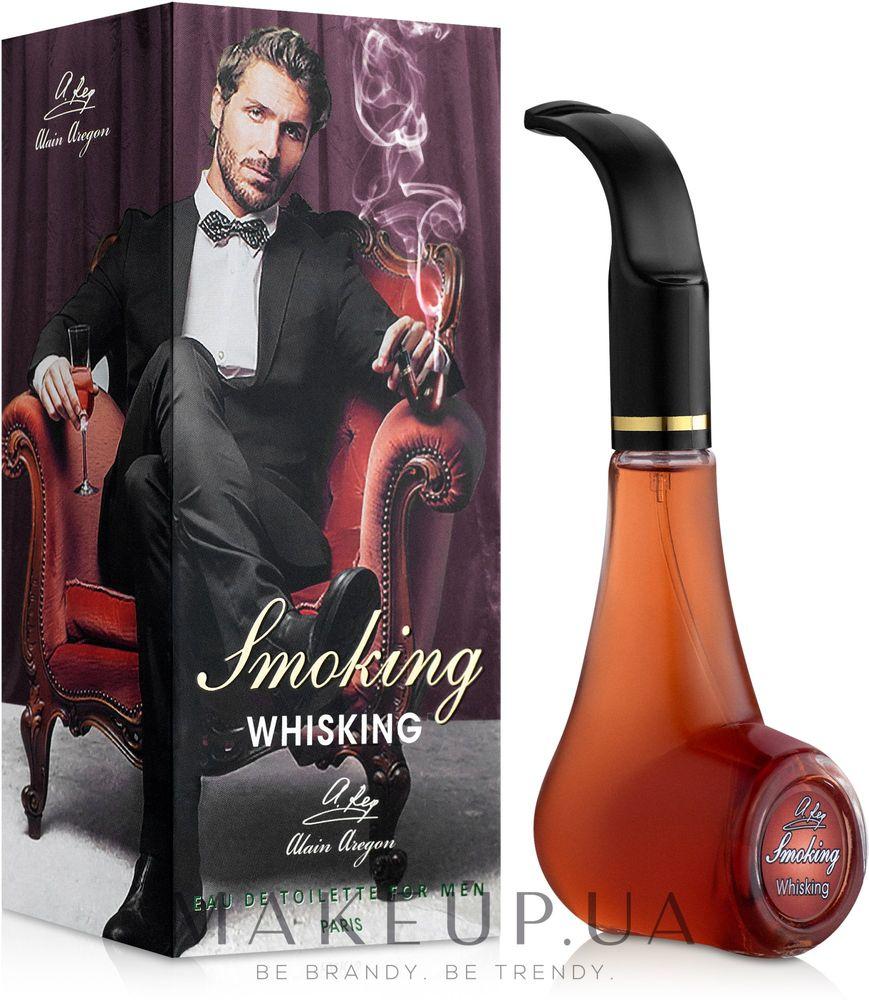 Alain Aregon Smoking Whisking