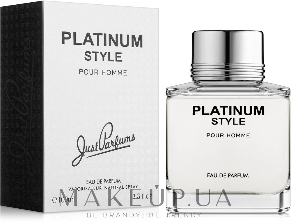 Just Parfums Platinum Style
