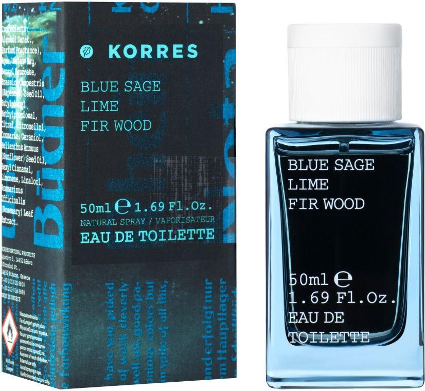 Korres Blue Sage Lime Fir Wood