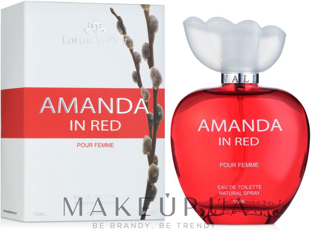 Lotus Valley Amanda in Red
