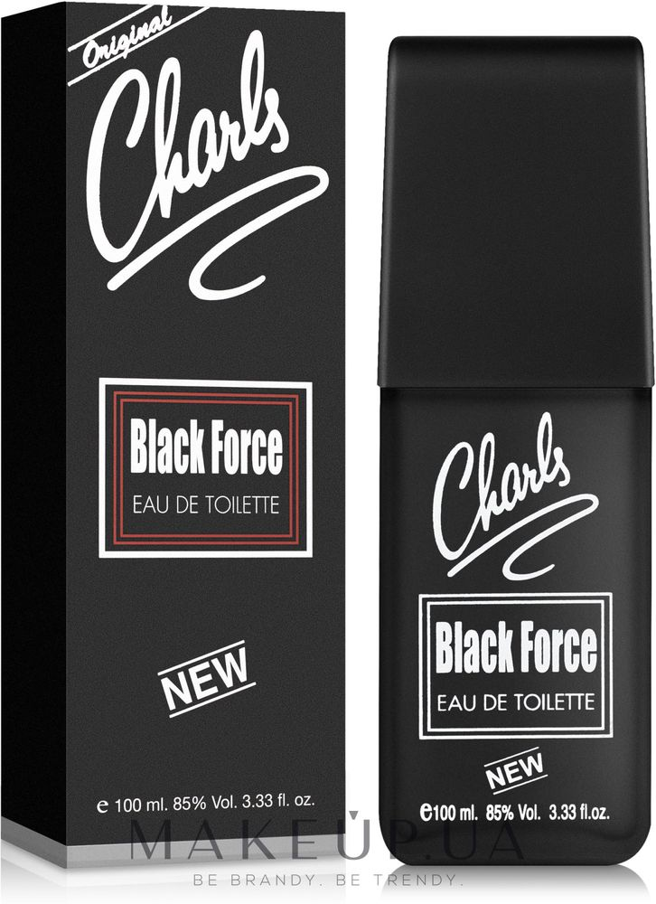 Sterling Parfums Charle Black Force