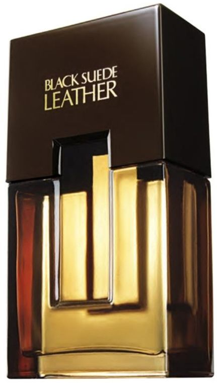 Avon Black Suede Leather
