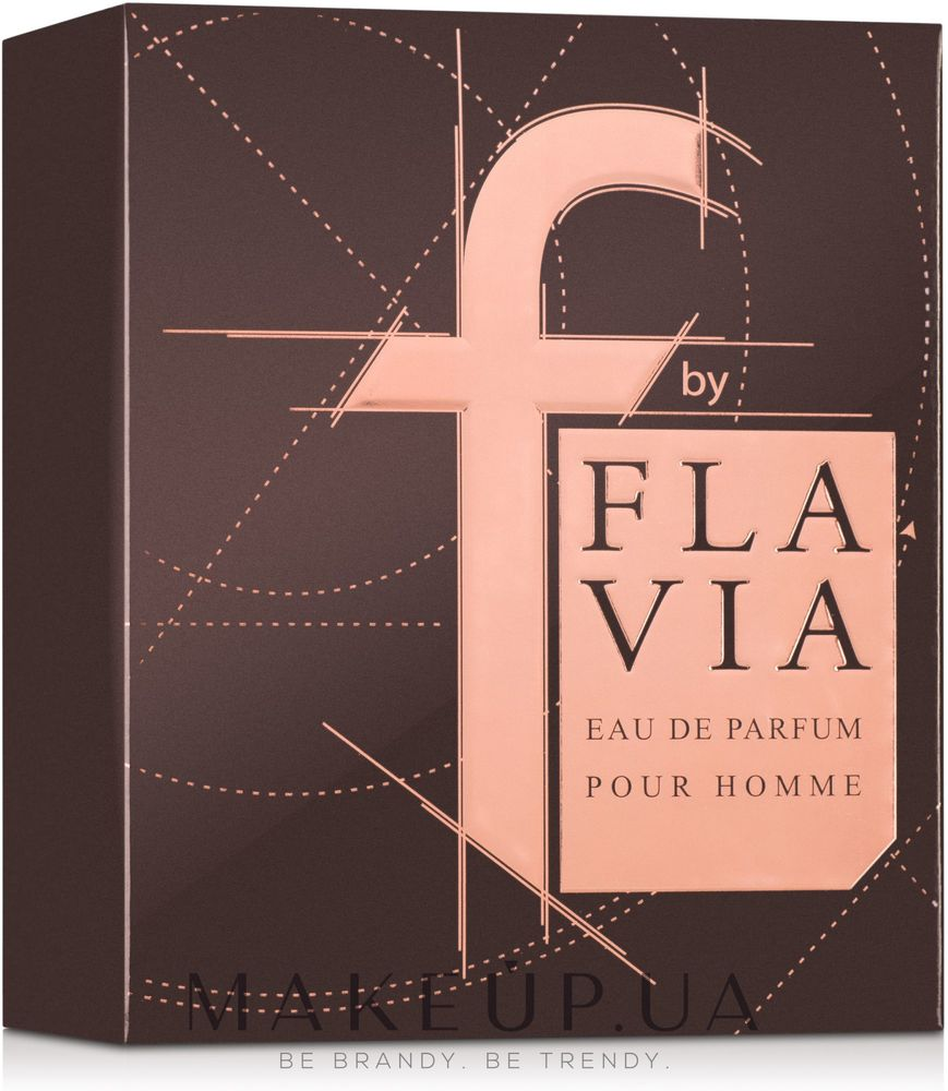 Flavia F by Flavia Brown Pour Homme