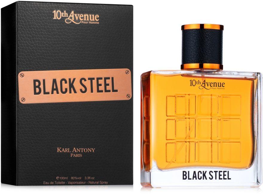 Karl Antony 10th Avenue Black Steel