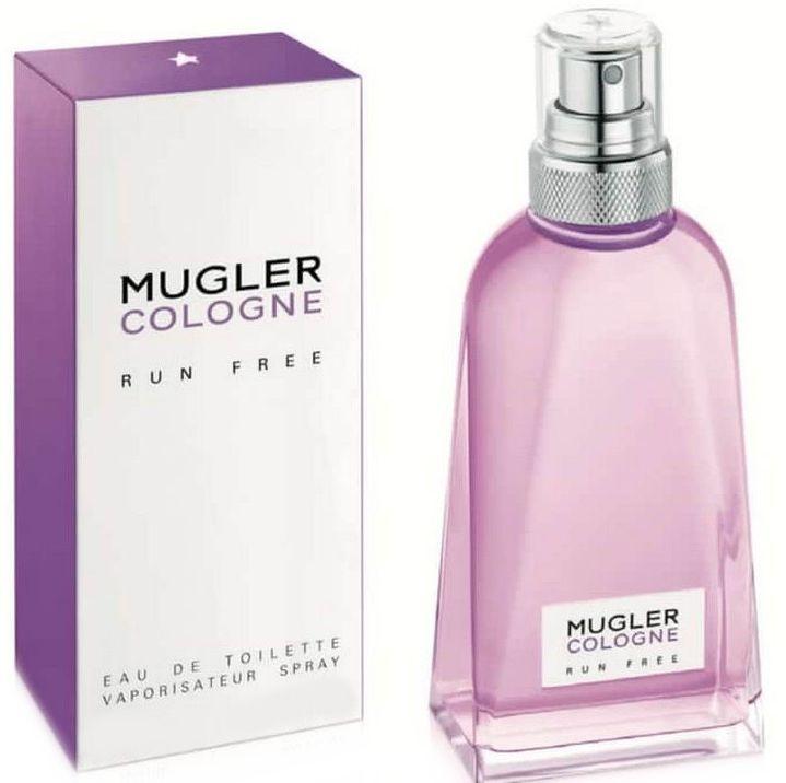 Mugler Cologne Run Free