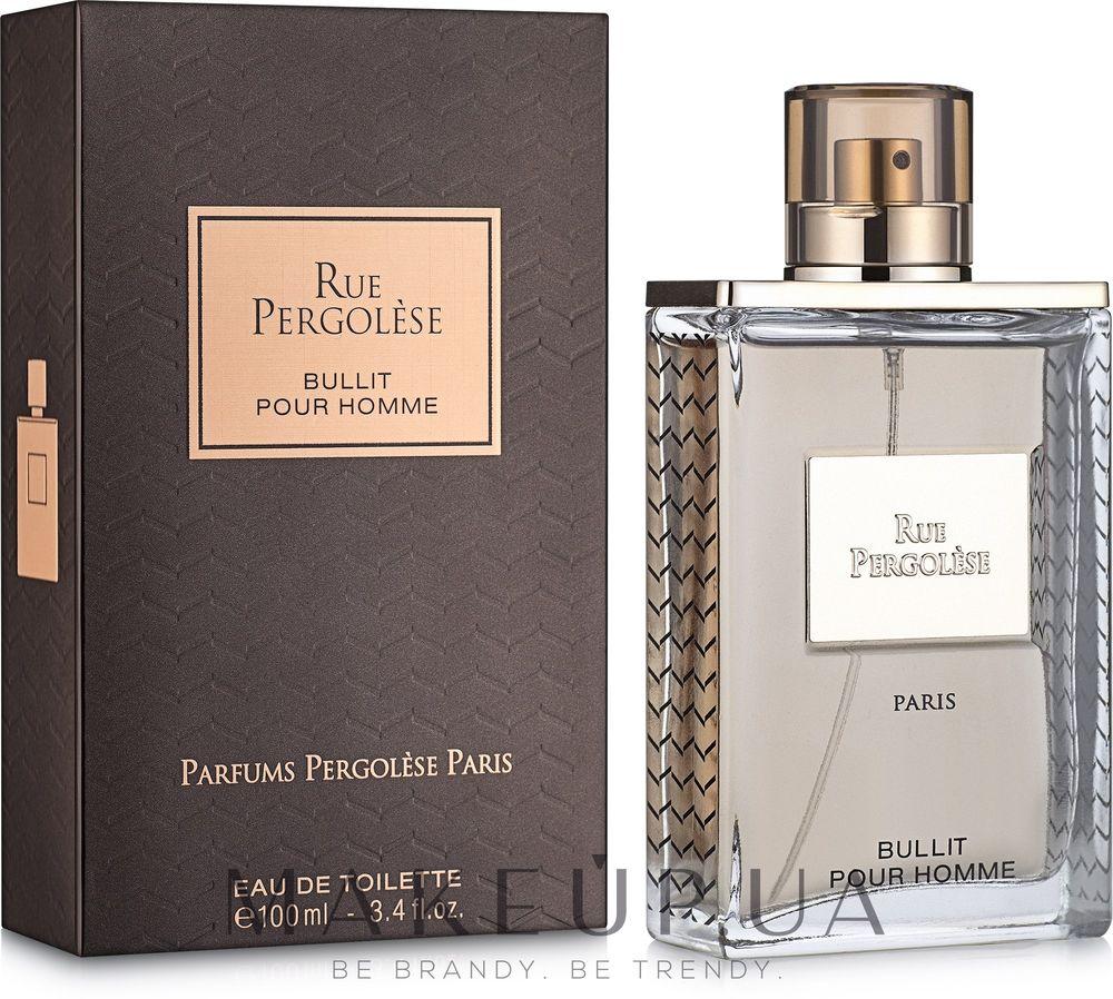 Parfums Pergolese Paris Rue Pergolese Bullit Pour Homme