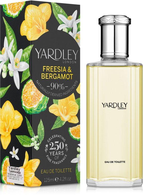 Yardley Freesia & Bergamot