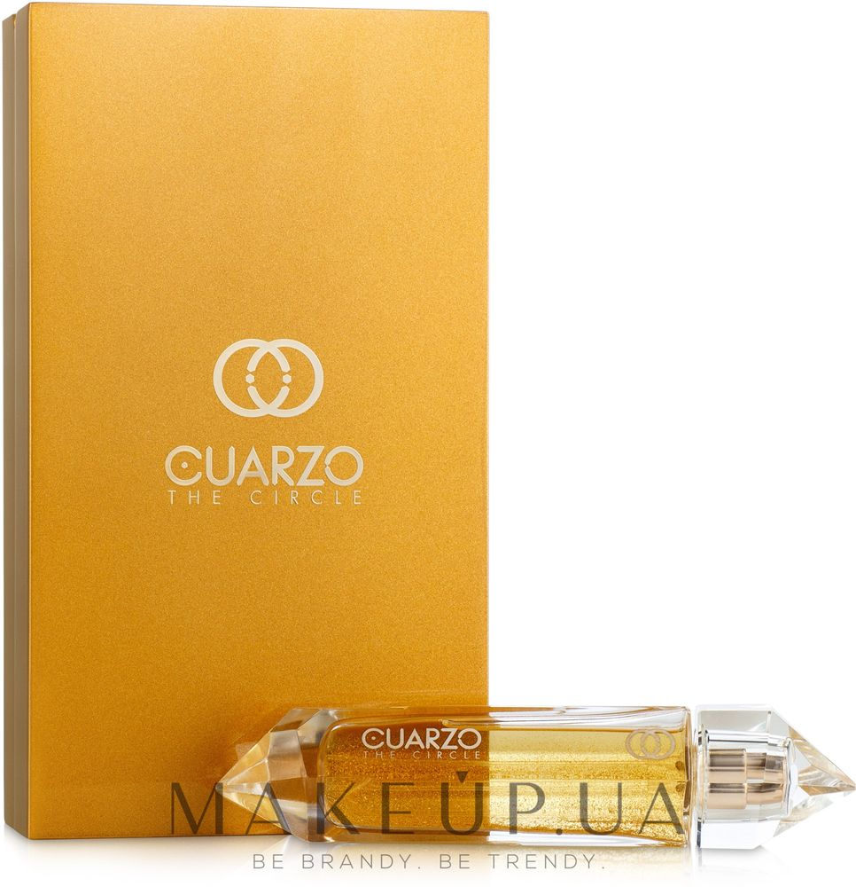 Cuarzo The Circle Sea Gold