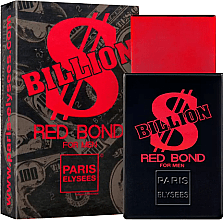 Photo of Paris Elysees Billion Red Bond For Men