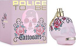 Police To Be Tatooart For Woman