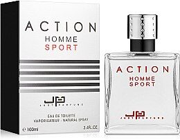 Just Parfums Action Homme Sport